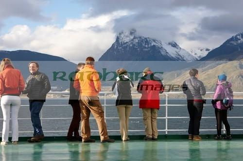 Fellow travellers on board ship