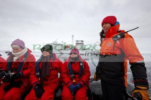 zodiac cruise excursion off the ship