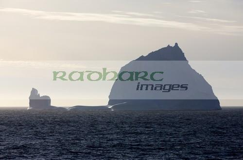 large drydock type iceberg in the antarctic ocean Antarctica