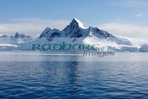 peak on ronge island Antarctica