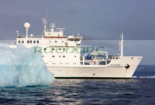 akademik sergey vavilov russian research ship charted as a tourist vessel cierva cove Antarctica