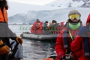 groups-tourists-on-zodiac-excursion-port-lockroy-antarctica