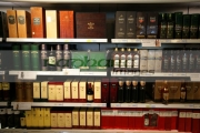 Whiskey-selection-in-Dublin-airport-Duty-Free