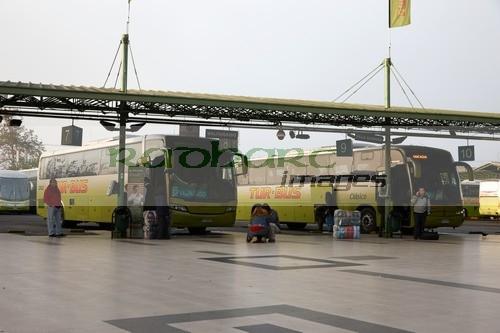 andenes terminal alameda bus station Santiago Chile