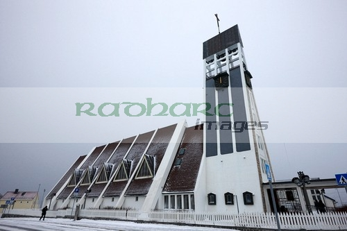 hammerfest church finnmark norway europe