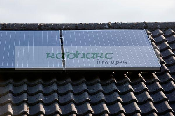 solar panels installed on roof Joe Fox northern ireland belfast photographer
