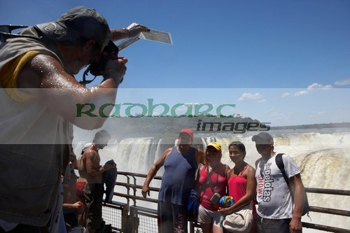 Photographer - Devils Throat - Iguazu Falls