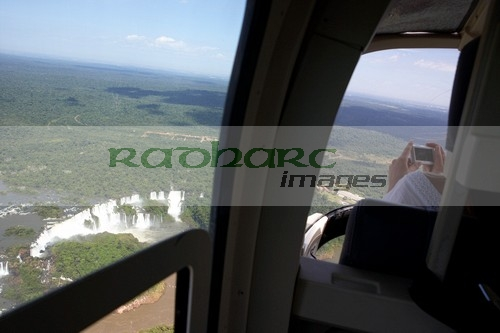 Helicopter flight - Iguazu Falls