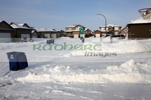 snow covered saskatoon street