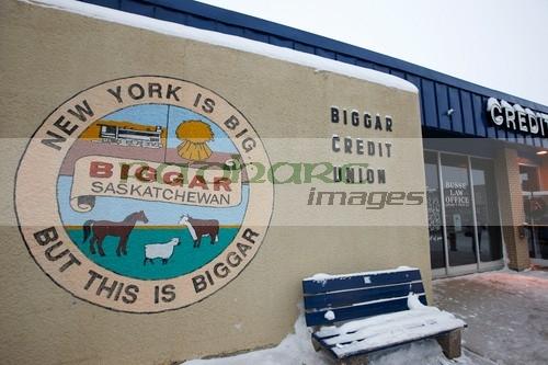 Biggar town slogan