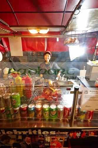 Japadog hot dog stand Vancouver