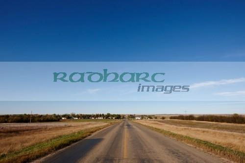 highway 34 near bengough Saskatchewan Canada
