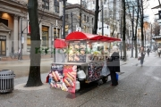 japadog-fast-food-hot-dog-stand-stall-on-granville-street-Vancouver-BC-Canada