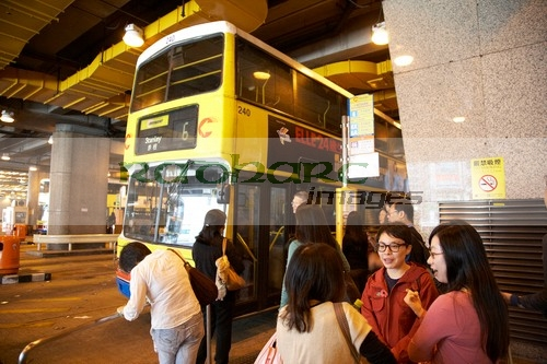 Hong Kong Central Exchange Square bus station