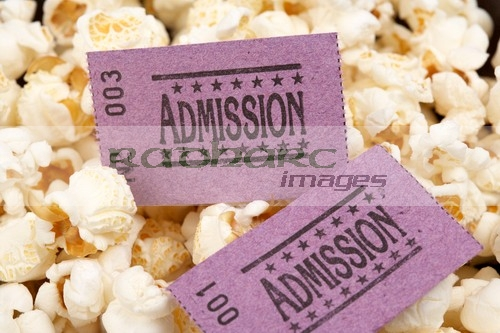 Home Cinema - popcorn cinema tickets