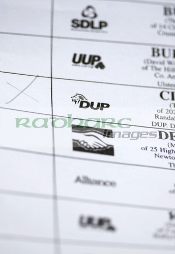 ballot paper