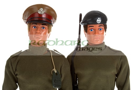 Action Man Combat Soldier and talking commander