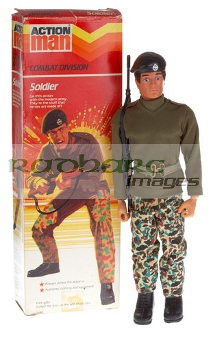 Action Man Combat Soldier mint in box mib