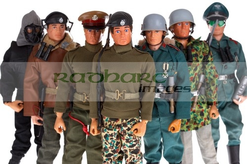 Action Man German stormtrooper paratrooper camp commandant army officer soldier sas tank commander talking collection