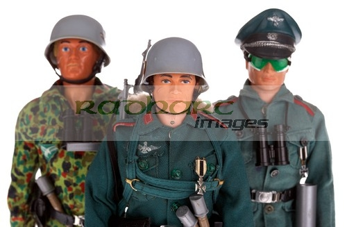 Action Man German stormtrooper paratrooper camp commandant army officer