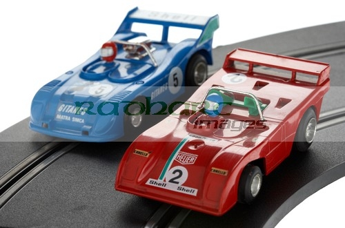 vintage polistil scalextric slot racing cars racetrack race set racing