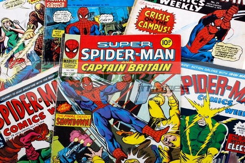 vintage spider man spiderman comics comic books