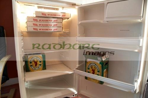 beer-pizza-in-fridge-winnipeg-manitoba-canada