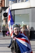 protester-wearing-union-flags-at-ongoing-protests-against-Belfast-City-Councils-decision-to-only-fly-the-Union-Flag-on-designated-days.-Belfast-City-Centre,-2nd-February-2013