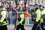 psni-police-officers-take-up-positions-at-ongoing-protests-against-Belfast-City-Councils-decision-to-only-fly-the-Union-Flag-on-designated-days.-Belfast-City-Centre,-2nd-February-2013