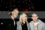 BELFAST,-UNITED-KINGDOM-_-NOVEMBER-21:-Calum-Best,-Liz-McLarnon-David-Healey-at-switch-on-the-Belfast-Christmas-Lights-at-Belfast-City-Hall-on-November-21,-2006-in-Belfast,-Northern-Ireland