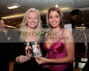 Michelle-Mone-Gemma-Atkinson-Opens-Ultimo-Store-in-Debenhams,BELFAST,-UNITED-KINGDOM-_-DECEMBER-13: