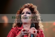 Gloria-Estefan-onstage-at-Odyssey-Arena-on-September-8,-2008-in-Belfast,-Northern-Ireland