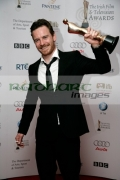 Michael-Fassbender-with-his-best-actor-in-feature-film-award-in-the-press-room-at-the-6th-Annual-Irish-Film-Television-Awards-at-the-Burlington-Hotel-on-February-14,-2009-in-Dublin,-Ireland