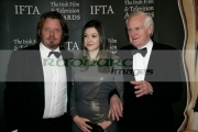 Actor-Charley-Boorman,-Lola-Boorman-Director-John-Boorman-at-The-7th-Annual-Irish-Film-And-Television-Awards,-at-the-Burlington-Hotel-on-February-20,-2010-in-Dublin,-Ireland.-Copyright-Joe-Fox-Radharc-Images