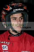 Jeroni-Fajardo-from-Spain-waits-for-the-start-the-heats-at-the-Belfast-round-the-Indoor-Trial-World-Championship,-won-by-Adam-Raga-from-Spain.