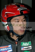 Takahisa-Fujinama-from-Japan-waits-for-the-start-the-heats-at-the-Belfast-round-the-Indoor-Trial-World-Championship,-won-by-Adam-Raga-from-Spain.