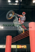Takahisa-Fujinami-from-Japan-on-his-Honda-bike-in-action-over-the-high-jump-at-the-Belfast-round-the-Indoor-Trial-World-Championship,-won-by-Adam-Raga-from-Spain.