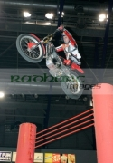 Current-world-champion-Adam-Raga-from-Spain-on-his-Gas-Gas-bike-in-action-over-the-high-jump-at-the-Belfast-round-the-Indoor-Trial-World-Championship,-won-by-Adam-Raga-from-Spain.