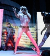 BELFAST,-UNITED-KINGDOM-_-FEBRUARY-03:-Lady-GaGa-performs-at-Kings-Hall-on-February-3,-2009-in-Belfast,-Northern-Ireland.-