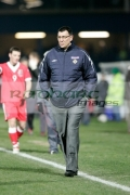 former-northern-ireland-manager-lawrie-sanchez-at-an-international-friendly-football-match-between-Northern-Ireland-Wales-at-Windsor-Park-6th-February-2006