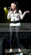 Mutya-Buena-performs-at-the-St-Patricks-Day-Concert-BELFAST,-UNITED-KINGDOM-_-MARCH-17:
