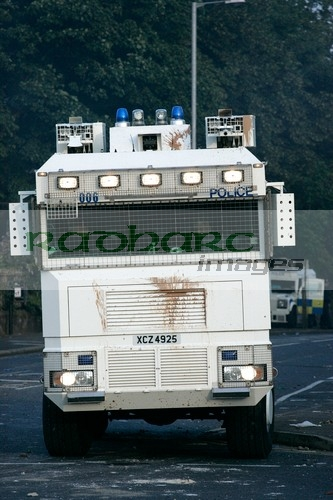 Water Cannon on the streets of the UK