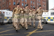 members-the-Royal-Irish-Regiment-RIR-parade-at-homecoming-from-Iraq-Afghanistan-in-Belfast-City-Centre