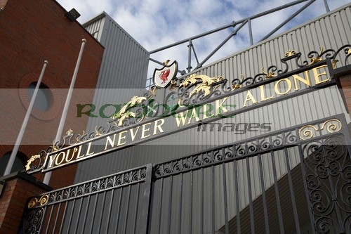 Shankly Gates Anfield Liverpool