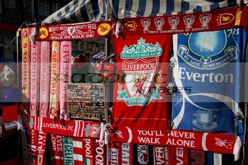 Liverpool football souvenirs