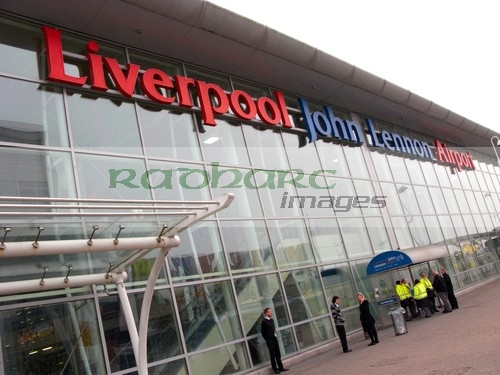 flying - liverpool john lennon airport