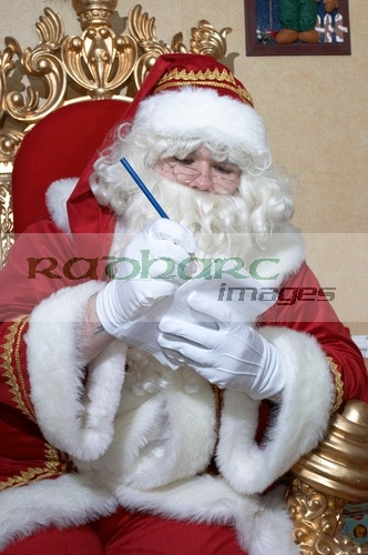 Santa making a list