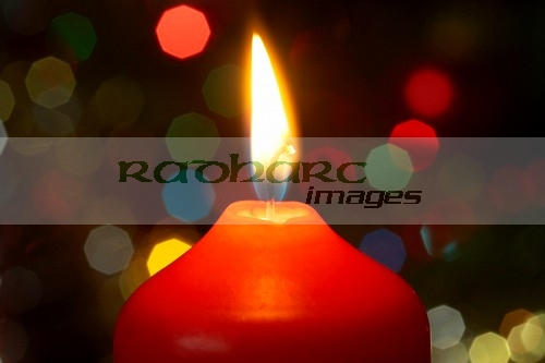 Christmas welcome home candle