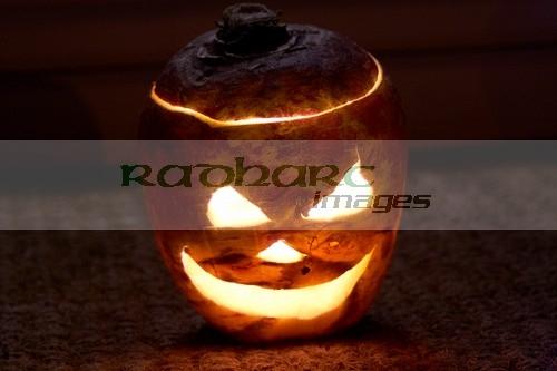 Halloween in Ireland - Turnip Jack O Lantern - jack-o-lantern