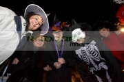 people-in-various-costumes-smile-for-camera-Halloween-Derry-Ireland
